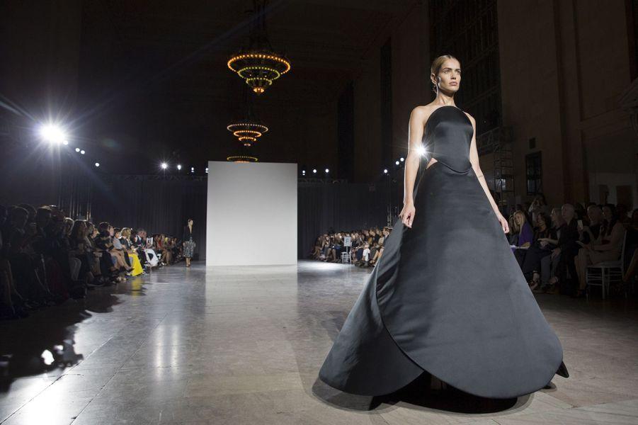 Le défilé Zac Posen à la Fashion week de New York