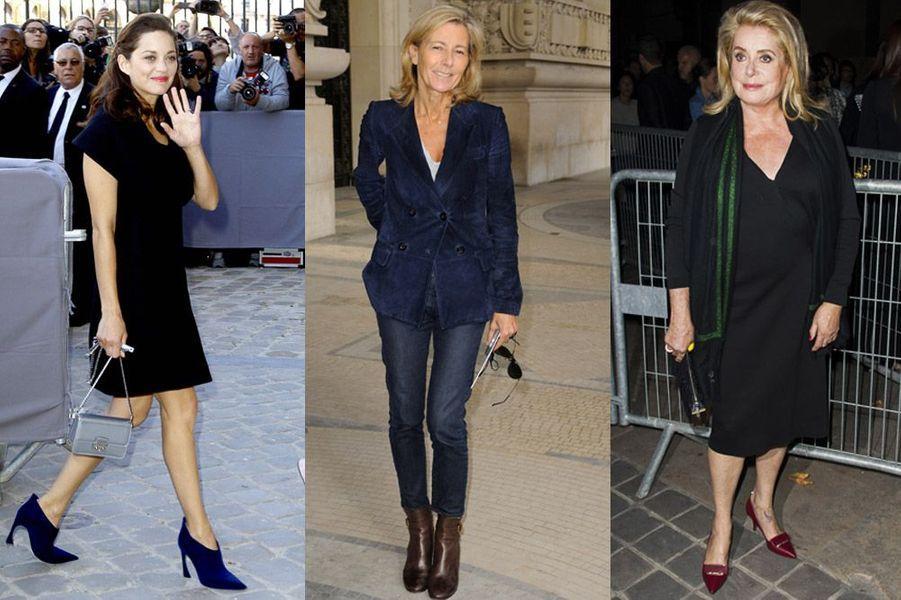 Marion Cotillard, Catherine Deneuve, Claire Chazal : les plus beaux looks de la semaine du 22 au 28 septembre 2014