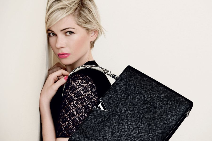Michelle Williams, sensuelle pour Vuitton