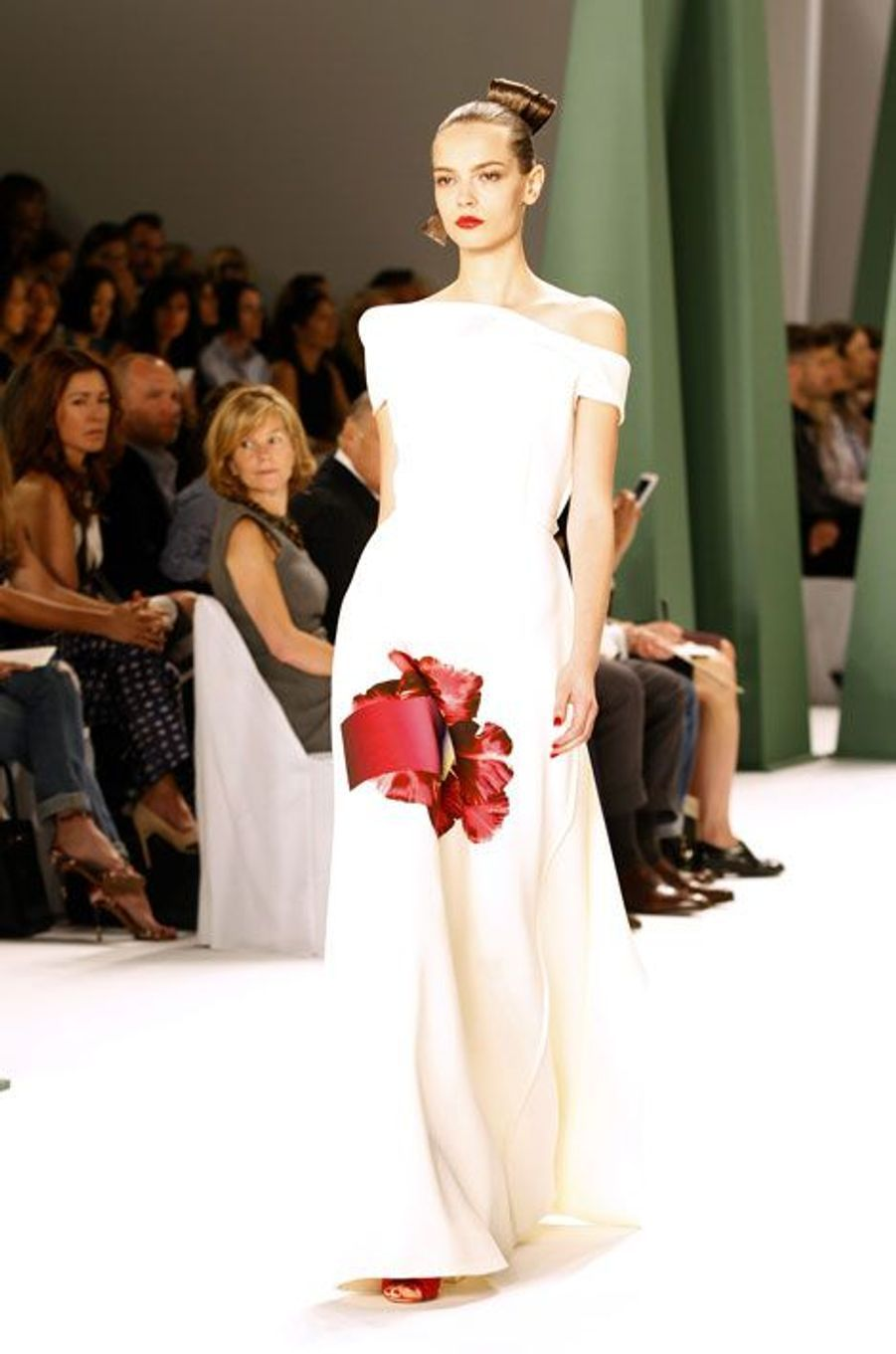 Carolina Herrera. Vent de fraicheur sur la Fashion Week