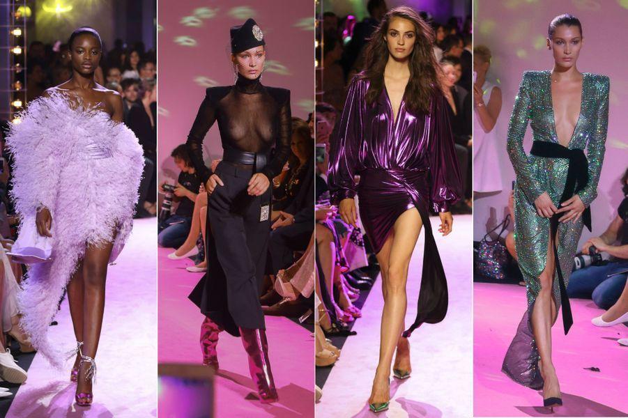 Collection Haute Couture d'Alexandre Vauthier.