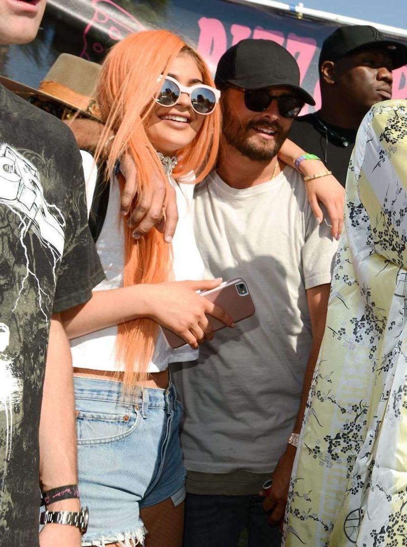Kylie Jenner et Scott Disick