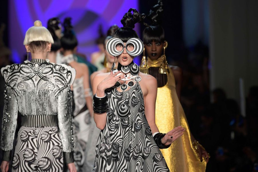 Défilé Jean Paul Gaultier, Haute couture 2018 à Paris le 24 janvier 2018