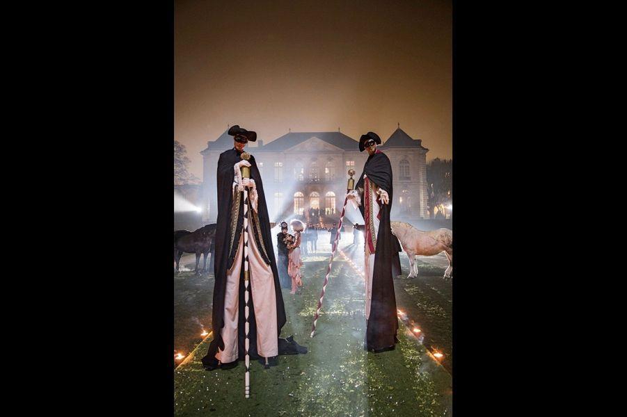 Un air de Venise… à Paris. A l'entrée du musée Rodin, le 28 janvier.
