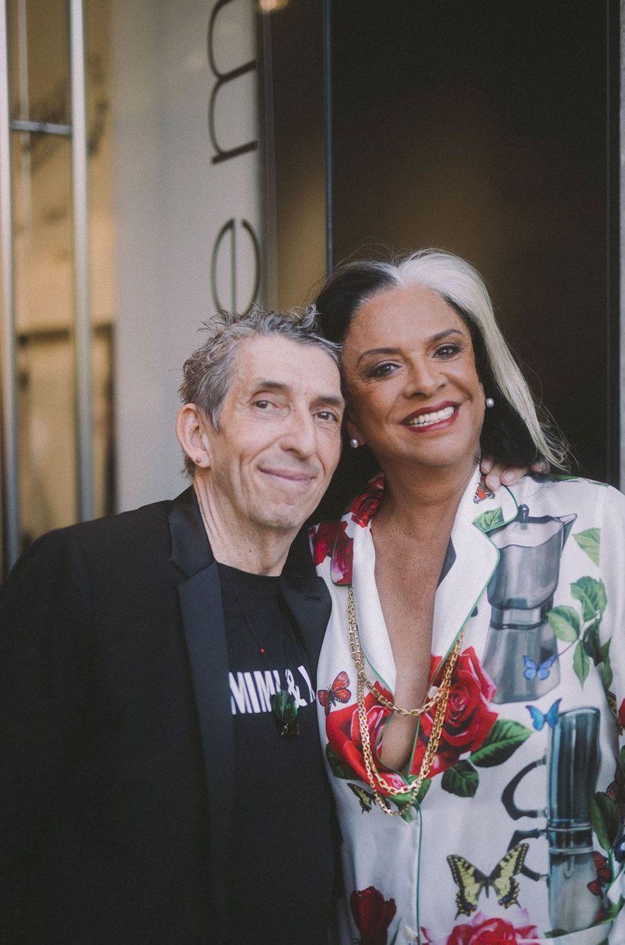 Bethy Lagardère et Michel Klein