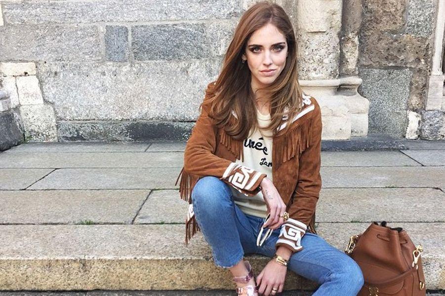 """Chiara Ferragni, élue par """"Vanity Fair"""" comme l'une des femmes les plus influentes de la mode. Revenus estimés en 2014 à 6 millions d'euros."""