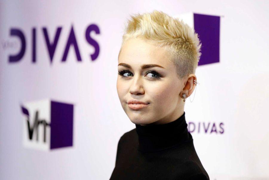 Miley Cyrus en 2012