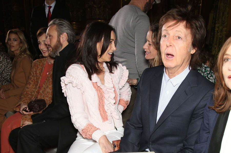 Stella McCartney:  Nancy Shevell et Paul McCartney