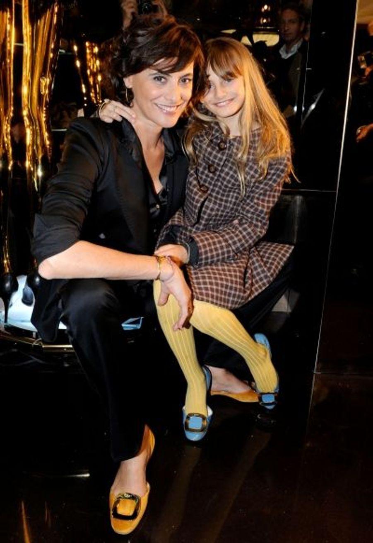 Comme sa mère, Inès de la Fressange, Violette d'Urso est déjà une fashionista.