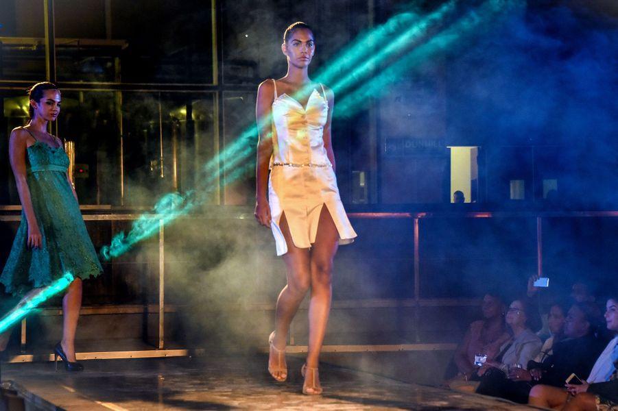 Opening de La Havane Fashion week, le 25 octobre 2017 à Cuba