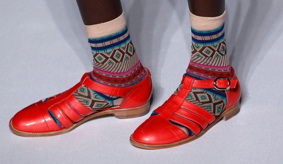 Sandales de touriste