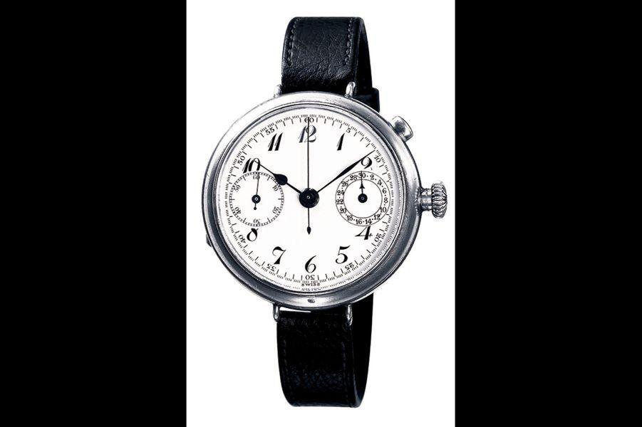 Le premier chronographe naîten 1923