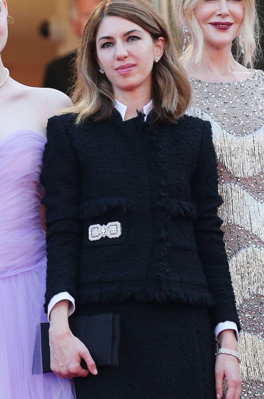 Sofia Coppola porte une montre Cartier Panthère.