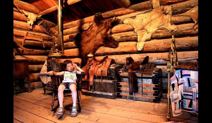 Pierre dans la cabane aux ours