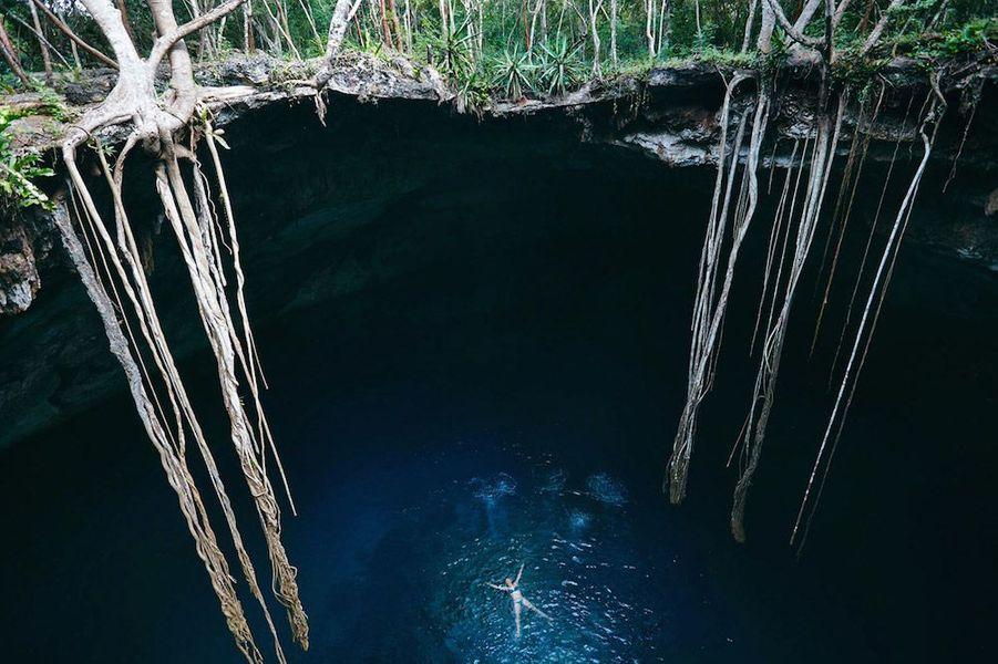 Cénotes: nager dans les entrailles de la Terre
