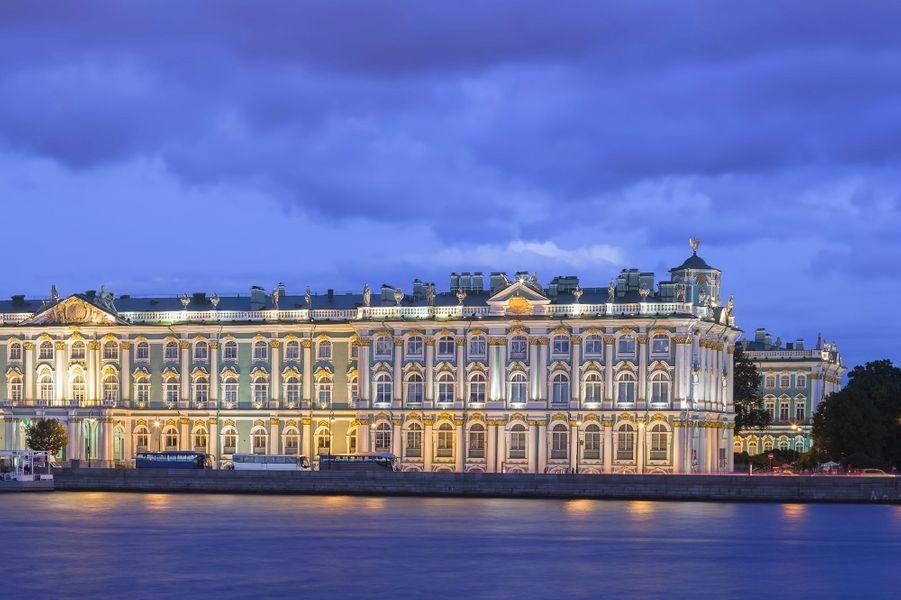 Le Musée de l'Ermitage,Saint-Pétersbourg, Russie.