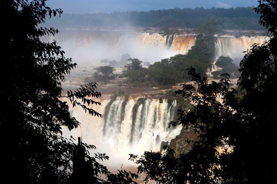 En pélérinage aux chutes d'Iguazu