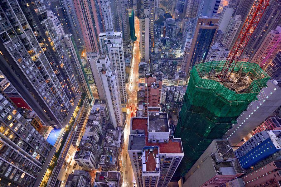 Le Hong Kong vertical de Romain Jacquet-Lagreze