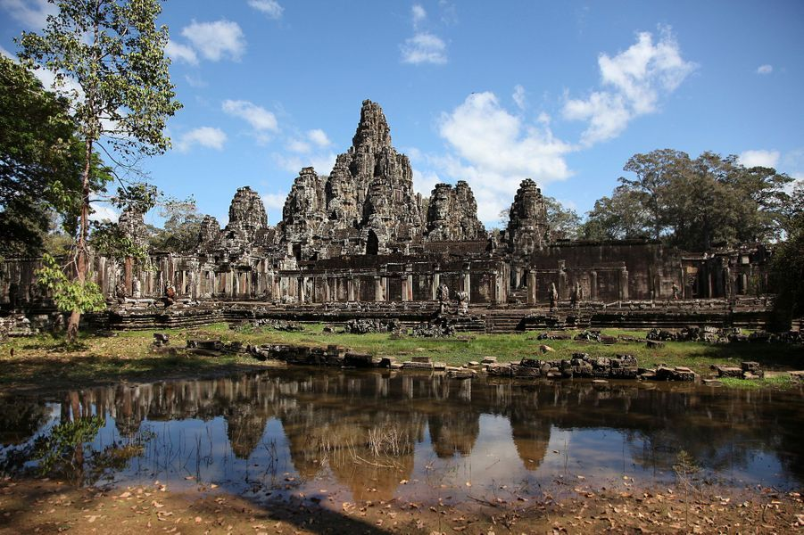 Temple d'Angkor – Cambodge