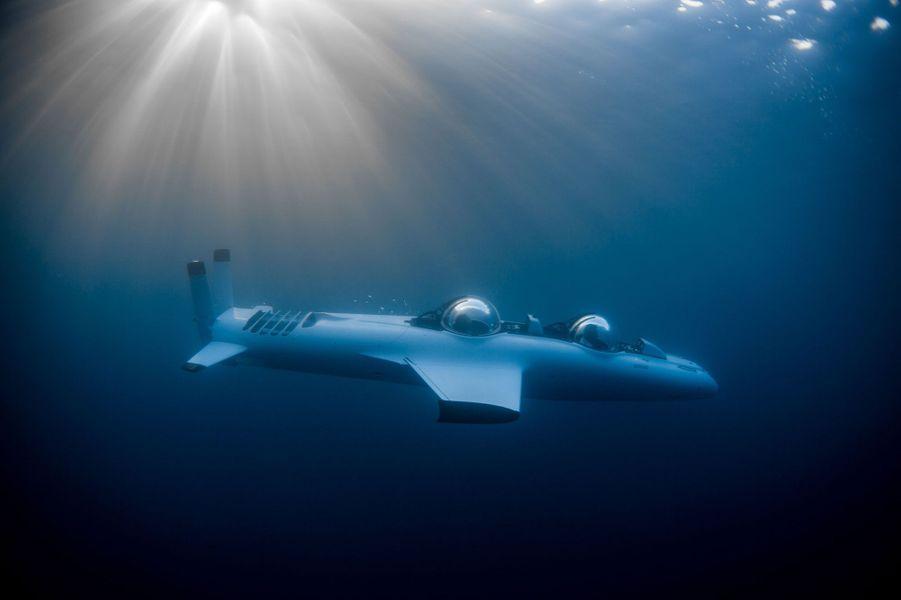Un sous-marin de poche acquis par Dietrich Mateschitz, le fondateur milliardaire de Red Bull, vient d'être livré sur Laucala Island, son île-hôtel de rêve composée de 25 villas. Un mini-submersible à la disposition des clients pour une exploration et des sensations exclusives.