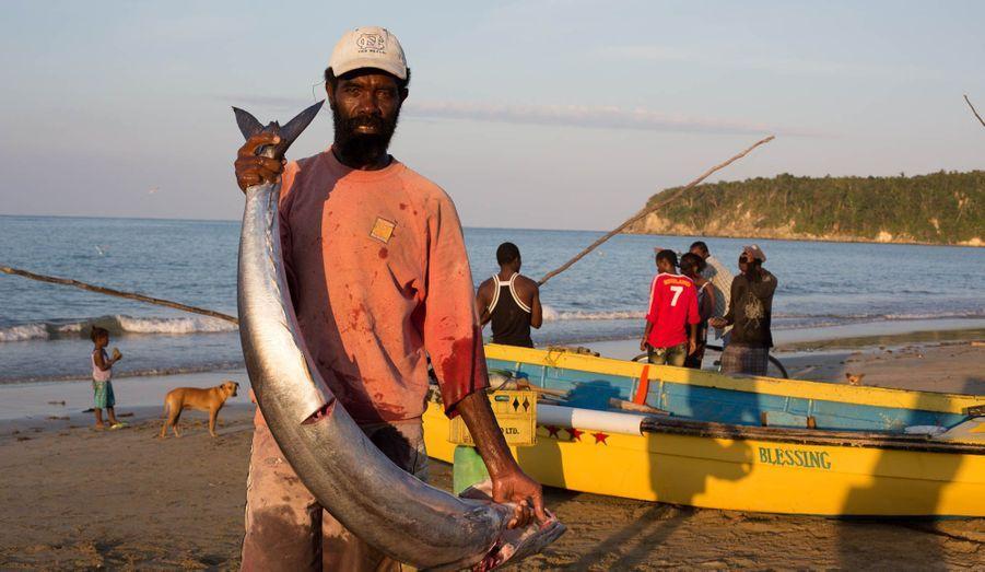 La plage des pêcheurs de Port Maria, en contrebas de la maison de Noël Coward. Les traditions de cette bourgade perdurent depuis le 18ème siècle.