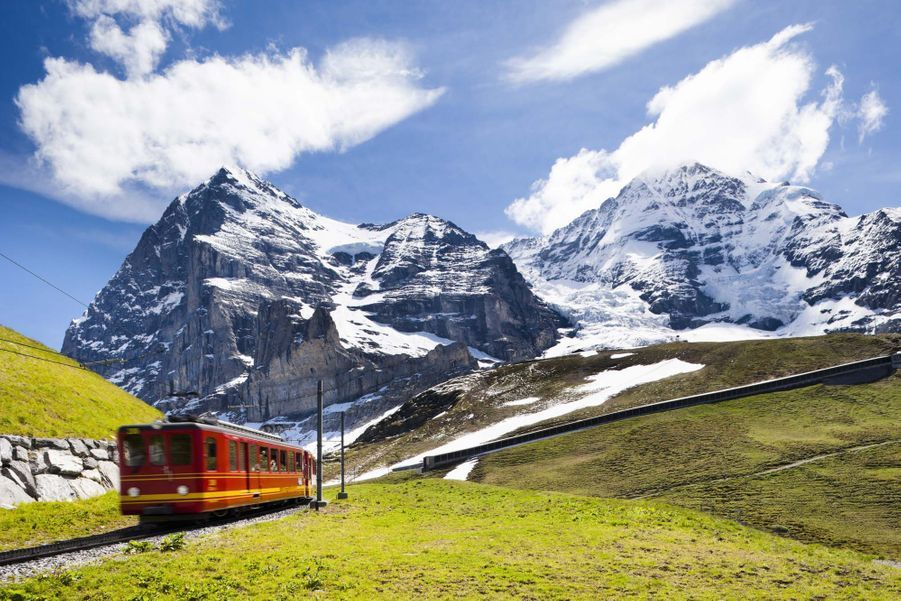 Dans la région de Jungfraujoch