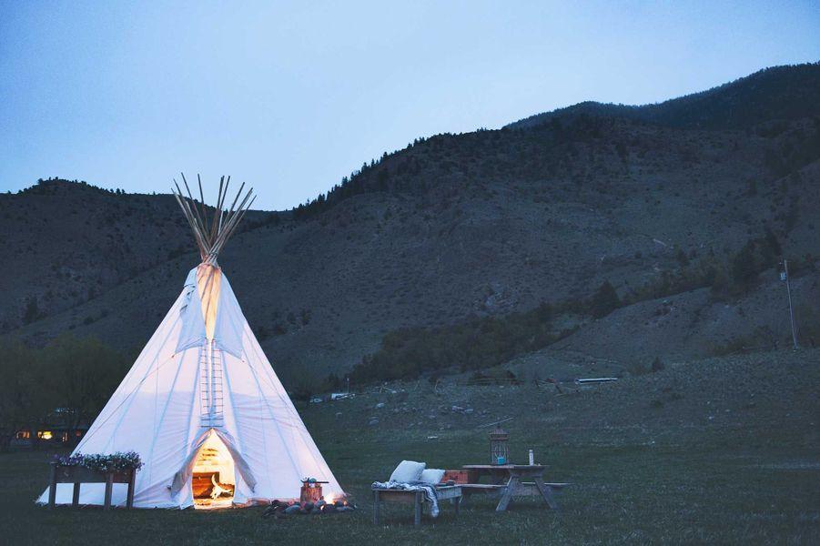 Le Dreamcatcher Tipi Hotel,Yellowstone - Montana, États-Unis