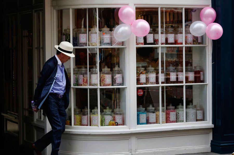 Londres et ses petits magasins typiques