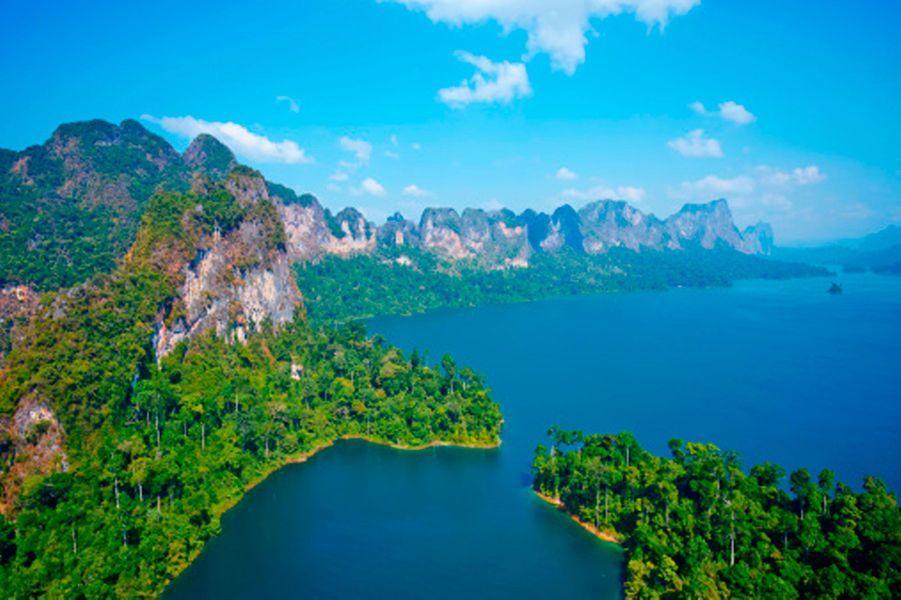 Le parc de Khao Sok est formé par l'une des forêts tropicales les plus vieilles du monde. Plus ancienne et plus variée que la forêt amazonienne, on peut y croiser 50 espèces de mammifères, 300 espèces d'oiseaux… Le lieu idéal pour les amoureux de la nature qui rêvent de dormir dans des cabanes dans les arbres ou monter à dos d'éléphants.