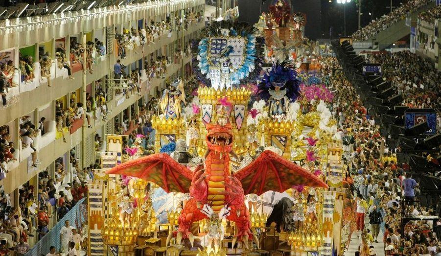 Un dragon s'invite à Rio