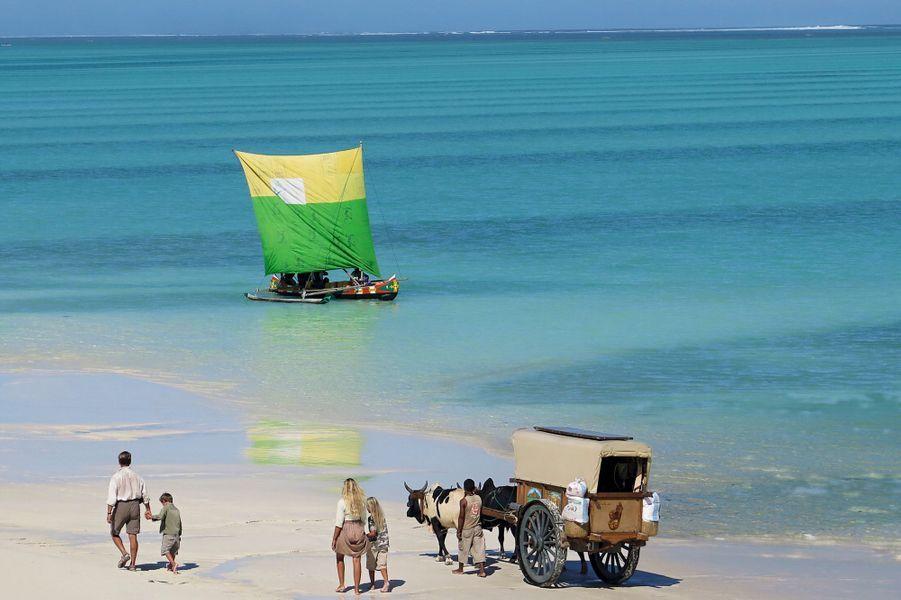 A Ankasy, à quatre heures de piste au nord de Tuléar, en bordure du lagon Saphir.