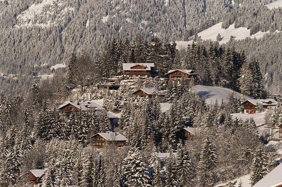 Vue de Gstaad.