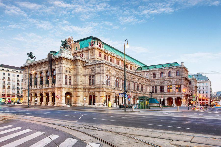 L'opéra Wiener Staatsoper.