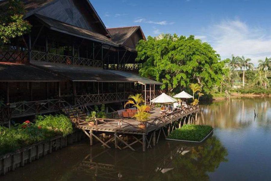 Sur l'île de Bornéo