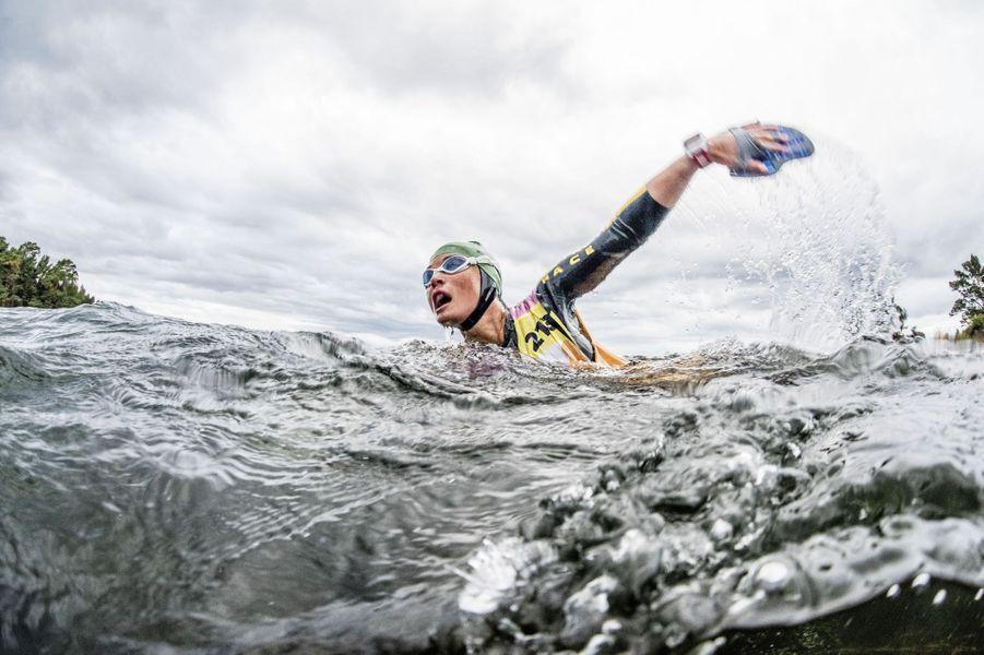 Pippa Middleton engagée dans l'Ö till Ö en Suède, le 7 septembre 2015