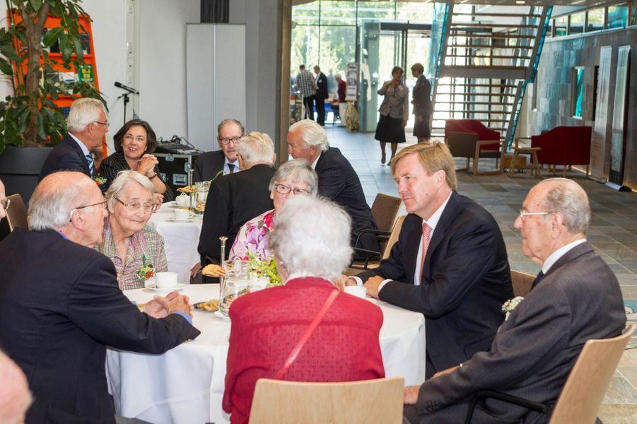 Le roi Willem-Alexander des Pays-Bas à Doorn, le 29 août 2015