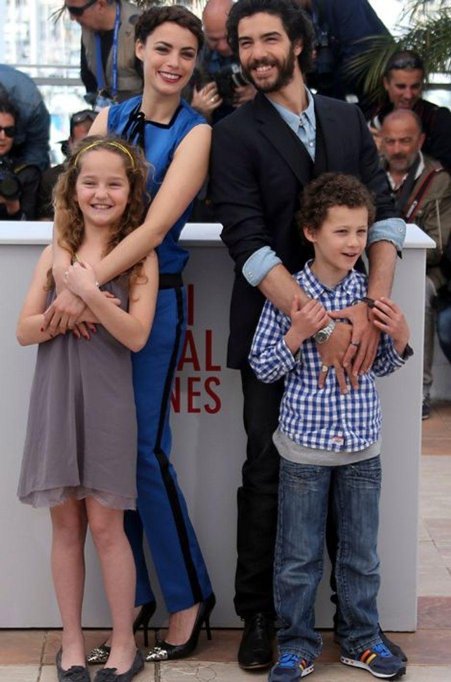 """Tahar Rahim, Bérénice Bejo et les enfants du """"Passé"""""""