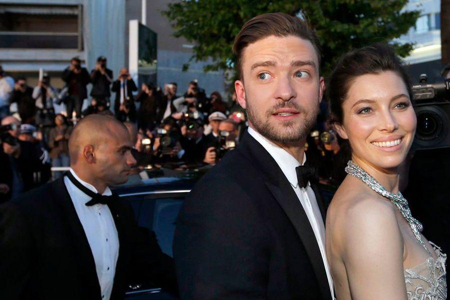 """""""Inside Llewyn Davis"""", le nouveau film des frères Coen, a créé l'événement ce dimanche, assurant une magnifique montée des marches, avec notamment le couple Justin Timberlake et Jessica Biel."""
