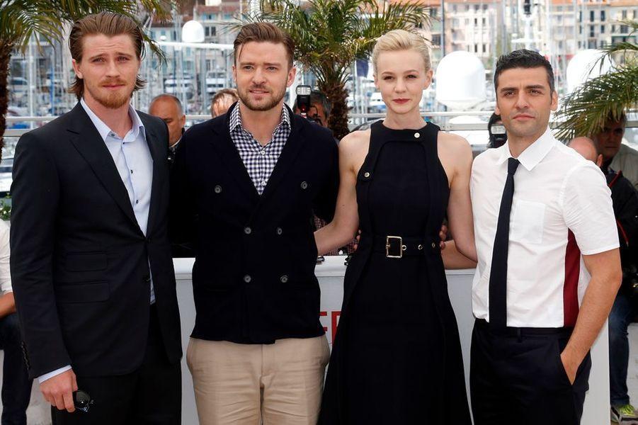 Garrett Hedlund, Justin Timberlake, Carey Mulliganet Oscar Isaac.