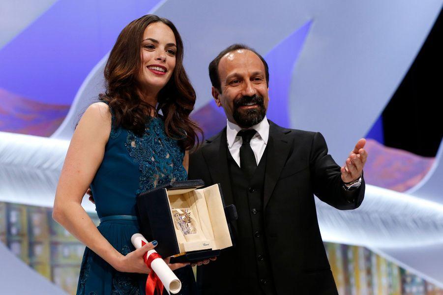 Bérénice Béjo et Asghar Farhadi