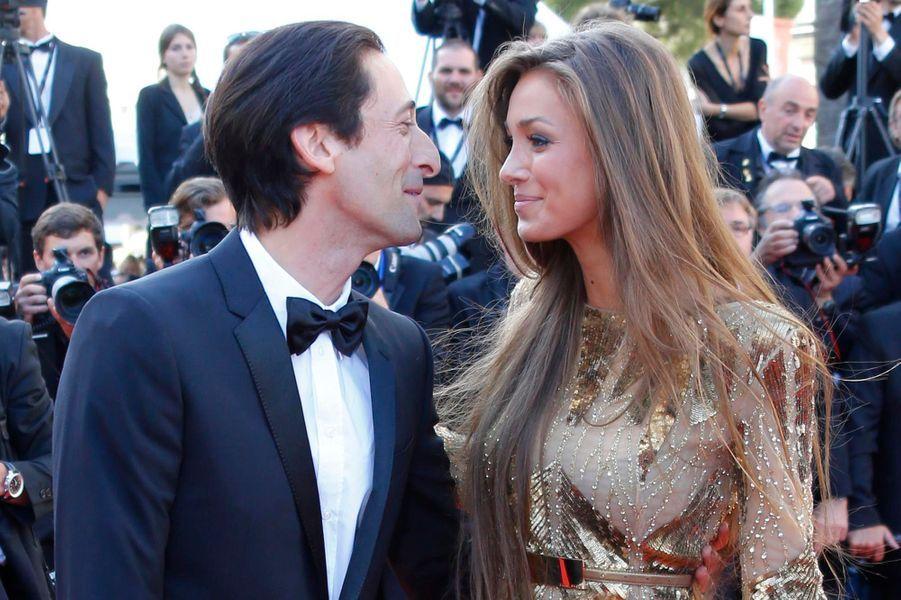 Adrian Brody et sa fiancée