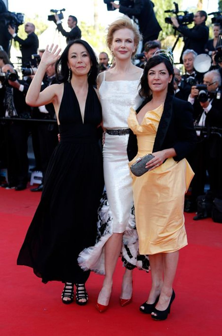Naomi Kawase, Nicole Kidman et Lynne Ramsay