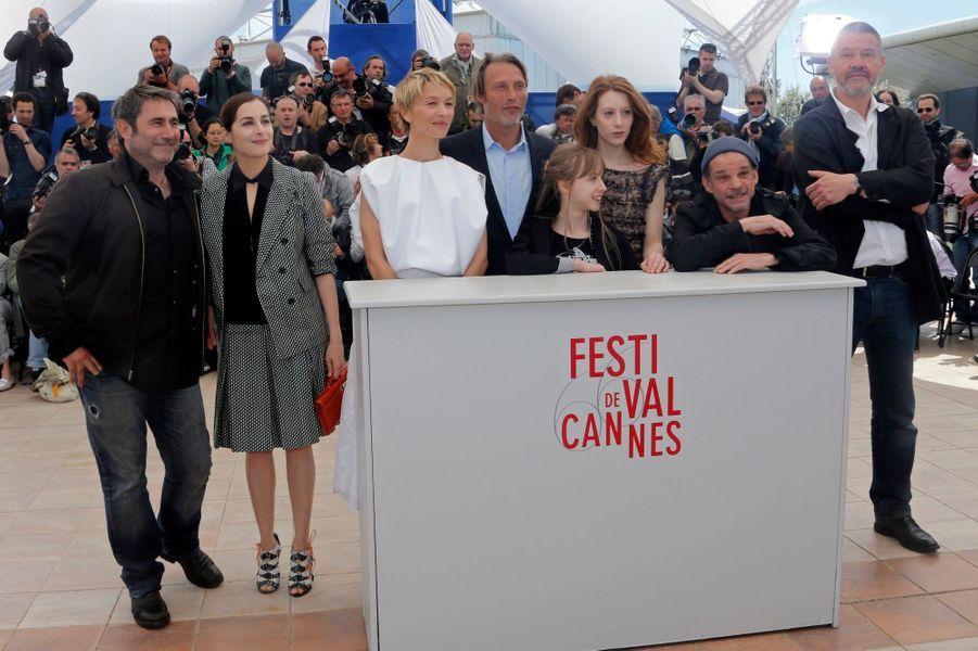 Sergi Lopez, Amira Casar, Delphine Chuillot, Mads Mikkelsen, Melusine Mayance, Roxane Duran, Denis Lavant et Arnaud des Pallieres.