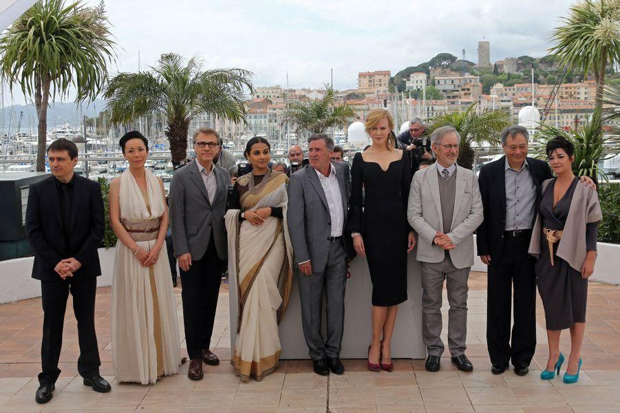 Le jury du 66e Festival de Cannes