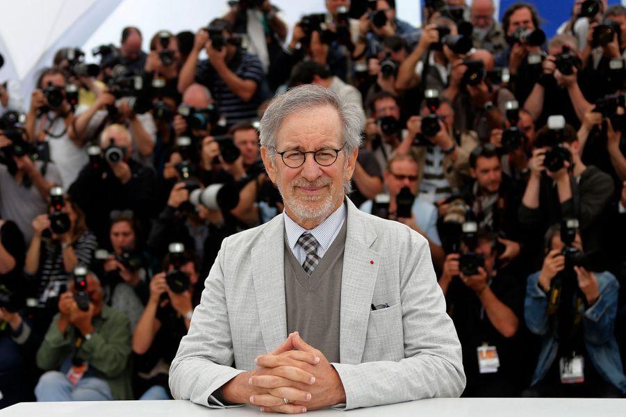 Steven Spielberg sans lunette de soleil