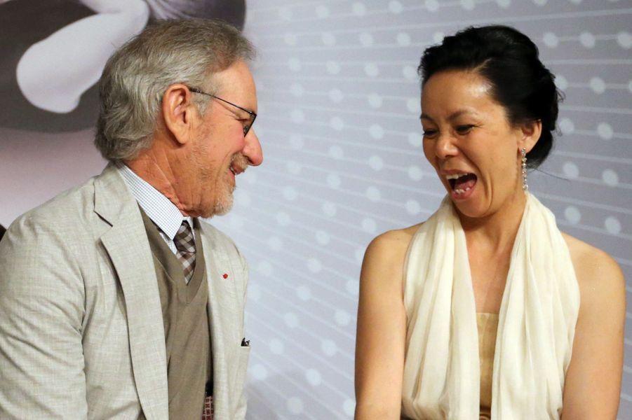 Stven Spielberg et Naomi Kawase
