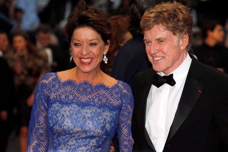 Robert Redford et sa femme Sibylle