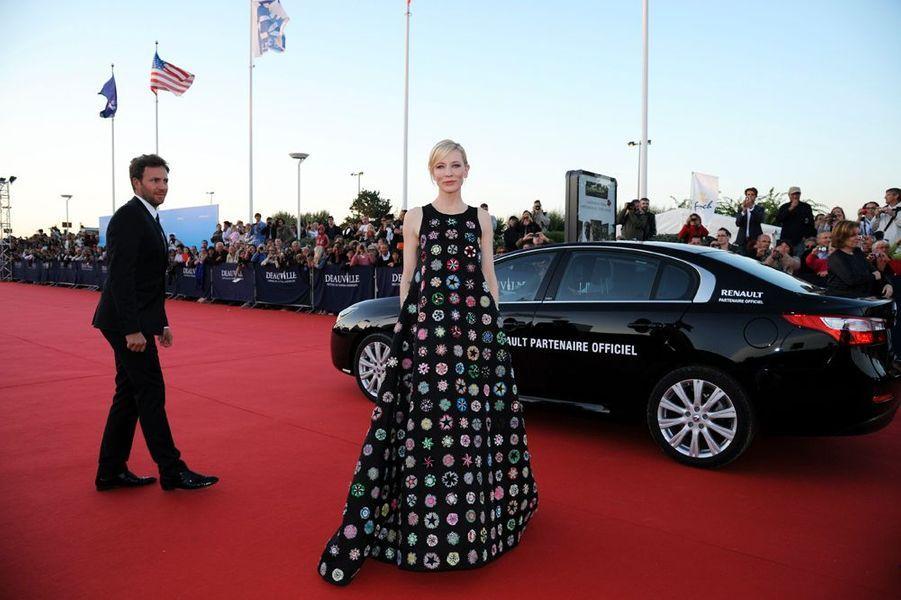 Cate Blanchett au festival du cinéma américain de Deauville en 2013