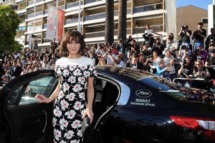 Milla Jovovich au Festival de Cannes en 2013