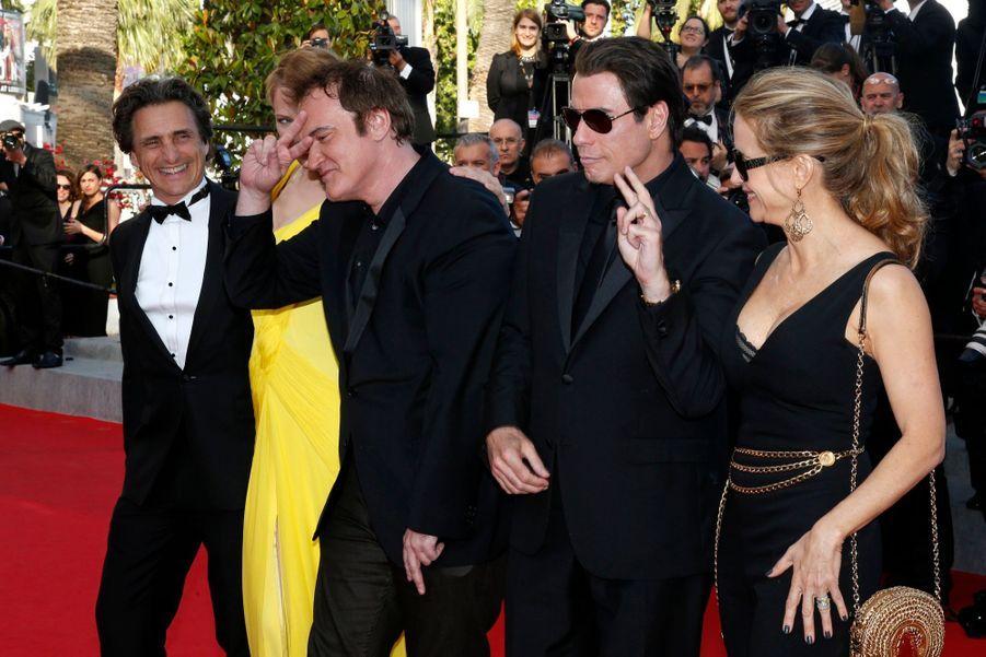 L'équipe de Pulp Fiction